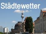 Städtewetter fur Deutschland und weltweit
