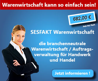 SESFAKT Warenwirtschaft - jetzt informieren